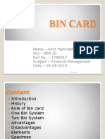 BinCard