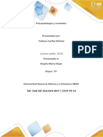 Psicopatologia y Contextos