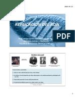 Replicacion Del Adn 2018 - Dr. Martin Zoppino