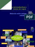 Medidas de Microestructura y Dureza de Capas