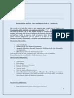 Documentación que debe tener una constitución de empresa