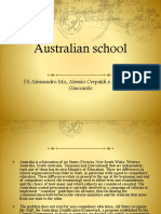 Ricerca Inglese Australian School