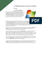 La introducción del Windows 7