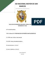3er Informe de Materiales
