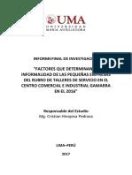 OICI 022 2016 Informe