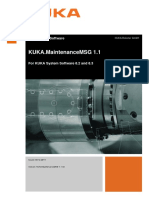 KUKA MaintenanceMSG 11 En