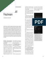 Entrevista a Donald Frischmann