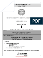 Especialista Em Educação Básica_Orientação Educacional e Supervisão Pedagógica