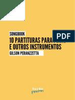 Songbook Gilson Peranzzetta