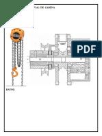 Diseño de Tecle Manual de Cadena