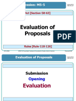 M 5-5-Evaluation of Proposals