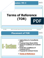M5-3 Terms of Reference (TOR)