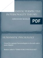 Maslow_s Humanistic Perspective of Personality.ppt