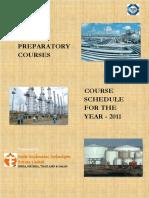 API510 Schedule 2011