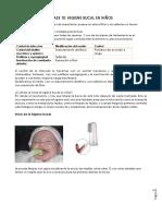 OP. Clase 10 Higiene Bucal en Niños y Cepillos