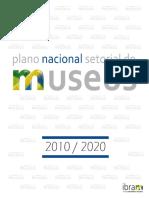 Plano Nacional Setorial de Museus
