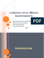 Comercio en El Mexico Independiente