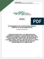 Bases Estandar Concurso Oferta PEC 034