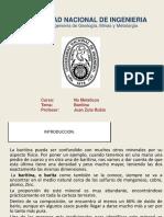 INDUSTRIA DE NO METÁLICOS