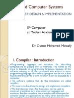 Compiler Presentation 1
