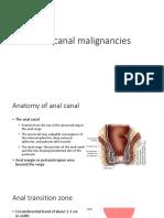 Anal Canal Malignancies