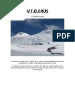Ascenso Elbrus Ricardo Florez Becas Todovertical 2013