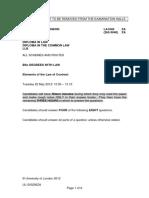 Contract Exam 2012 A