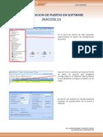 GR - Axceze - Configuracion de Puertas en Software ZKAccess 3.5