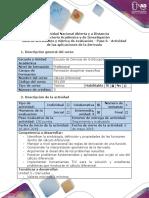 Guía de Actividades y Rúbrica de Evaluación - Paso 6 - Actividad de Las Aplicaciones de La Derivada