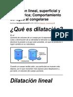 Teoria de Dilatacion 210902