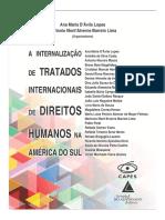 A internalização dos tratados internacionais de direitos humanos