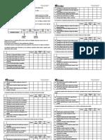 Cuestionarios Fapsi y Estres Forma B