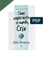 Aberasturi Andres - Como Explicarte El Mundo Cris