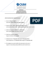 Financial accounting assignment sept 2019
