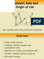 Autocatalytic Sets and Life