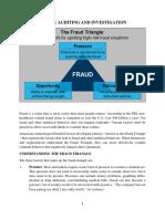 ACC 420 the Fraud Triangle Theory