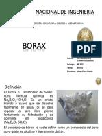 Clase Borax 2019