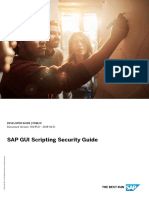 SAP GUI Scripting Security