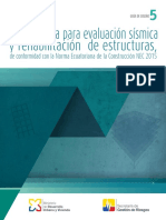 GUIA PARA EVALUACIÓN SÍSMICA Y REHABILITACIÓN ESTRUCTURAL NEC 15