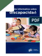 Folleto informativo sobre discapacidad