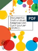 Documento Individual de Adaptación Curricular (DIAC)