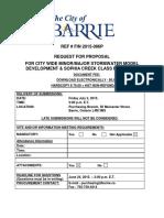 Barrie - 2015-086P Stormwater Model Developments