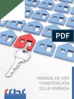 manual de uso y mantencion de la vivienda ccch