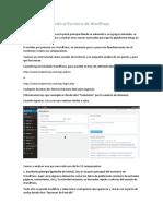 3_Acceso e Introducción Al Escritorio de WordPress
