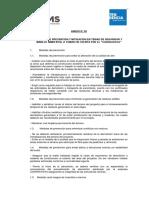 ANEXO N° 02 Medidas de prevención y mitigación en temas de seguridad y manejo ambiental a tomar en cuenta por EL CONTRATISTA