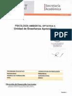 Sd Opt II Psicología Ambiental