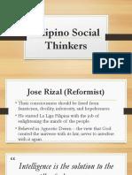 Filipino Social Thinkers