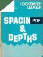 LocksmithLedger Spacings and Depths 1979