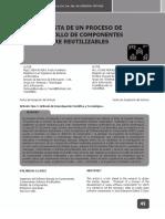 Propuesta desarrollo Basado en componentes