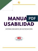 Manual Usabilidad Encuesta Administradores